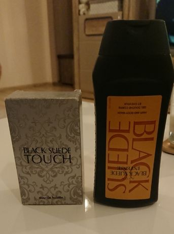 Woda Avon Black Suede Touch 50 ml + żel