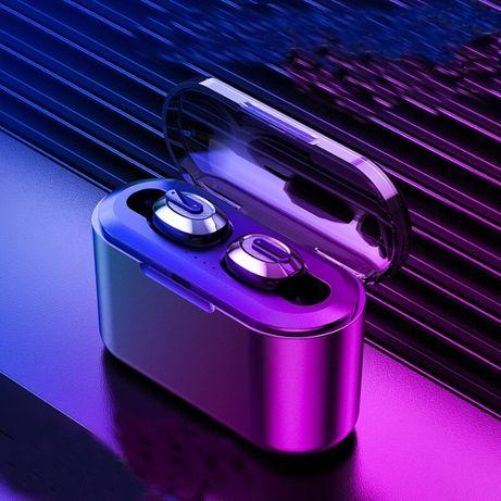 Słuchawki stereo 3D bluetooth bezprzewodowe z powerbankiem HIT MOC!