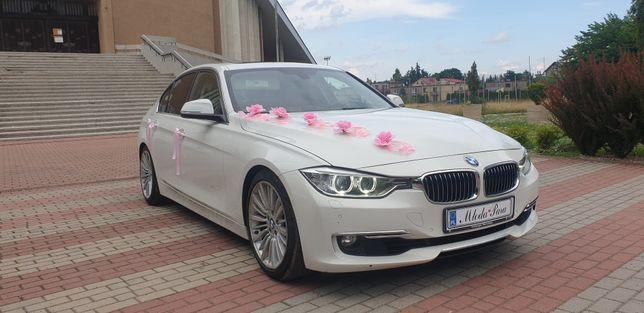 Wynajem auta do ślubu BMW w wersji Luxury Line