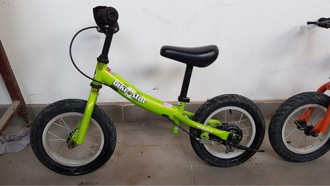 велобеги, два цвета