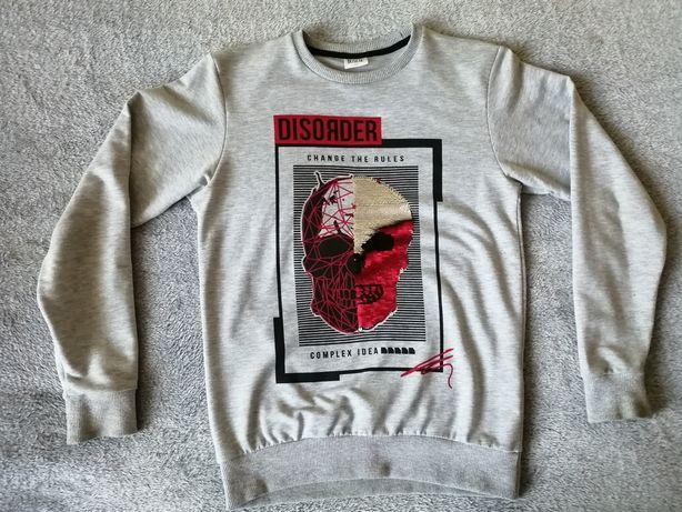 Bluza z cekinami dla chłopca rozmiar 146