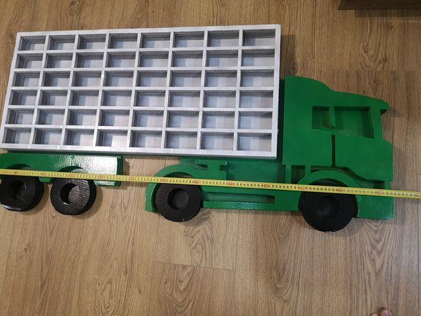 Półka samochód ciężarowy na resoraki, samochodziki