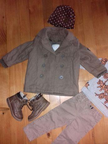 пальто шапка ботинки 2р