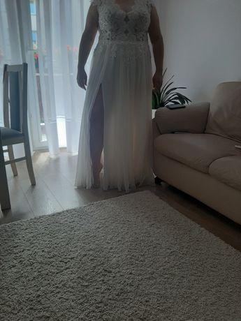 Sukienka ślubna roz 46
