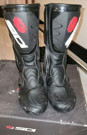 Buty motocyklowe damskie SIDI cobra 38 24.5cm BDB
