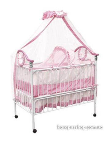 Детская кроватка Geoby для девочки с люлькой