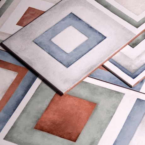 Płytki Ścienne Ceramiczne Kolorowe Village Color Riquardi Dekor 25x75