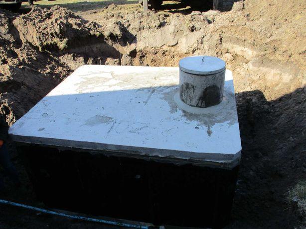 Szambo piwniczka deszczówka zbiornik oczyszczalnia dowóz montaż