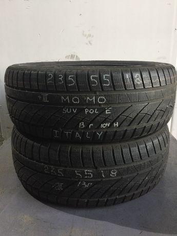 Зимние шины R18 235 55 momo suv pole Italy /225 245 215 / 50 60 45