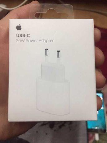 Блок питания-Быстрая зарядка для Apple iPhone iPad 20W USB-C Power