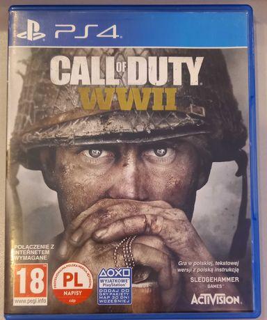 Call of Duty WW2 PL dubbing na PS4/PS5 * ideał * Sklep Chorzów Wolka
