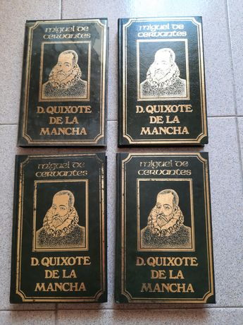Colecção livros D' Quichote de la mancha