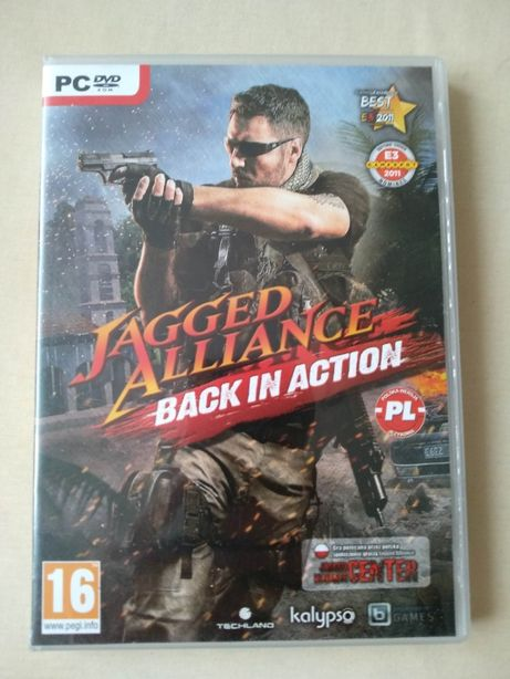 Gra PC Jagged Alliance Back in action