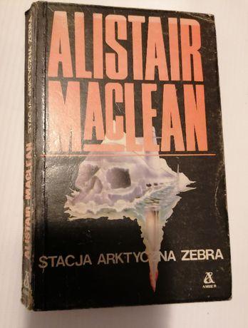 Alistair McLean książka akcji Stacja arktyczna Zebra