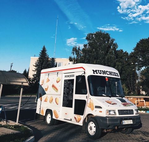 Фудтрак, готовий бізнес, кухня на колесах