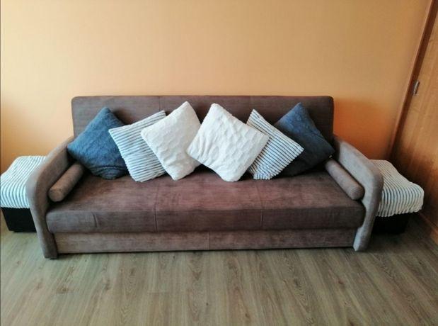Komplet wypoczynkowy sofa + 2 fotele