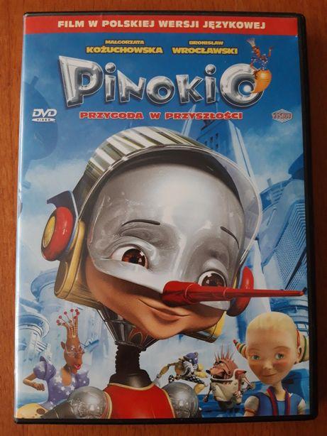 DVD Pinokio Przygoda w przyszłości
