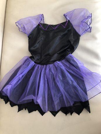 Vestido de carnaval de bruxa