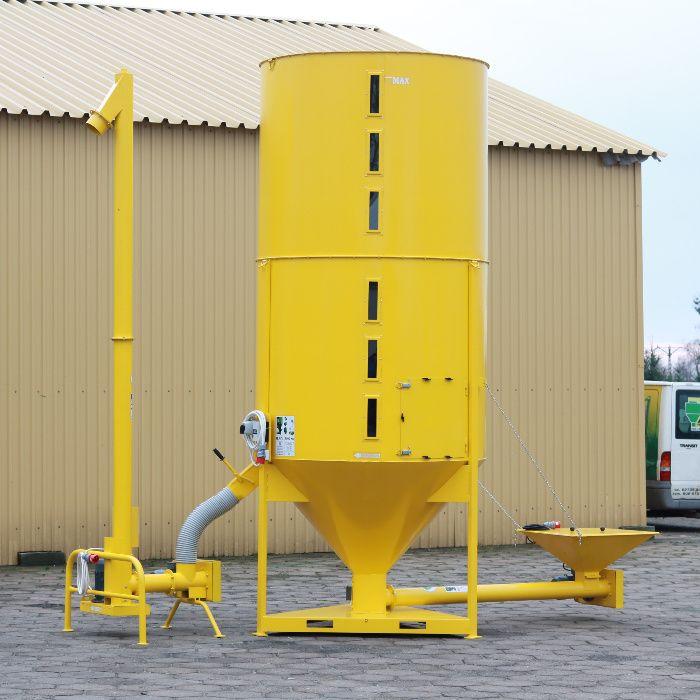 Linia do tworzywa sztucznego recyklingu Mieszalnik Przenośnik M-ROL PL