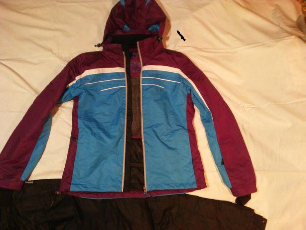 kurtka narciarska termoaktywna M/L, spodnie (komplet 120zł)