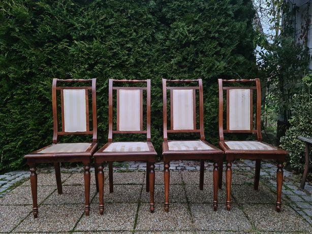 Włoskie krzesła z lat 70' 4 sztuki, mod. Depositato