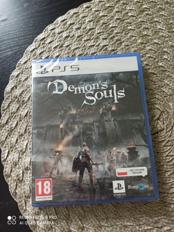 Gra Demons Souls na konsole ps5