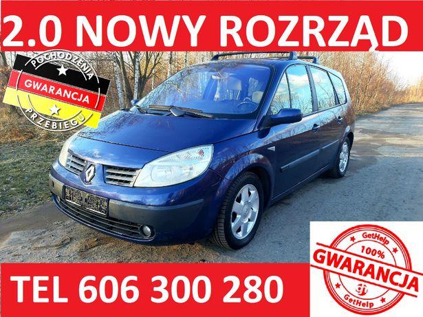 Renault Grand Scenic 2.0 04r DOINWESTOWANY z Niemiec po opłatach