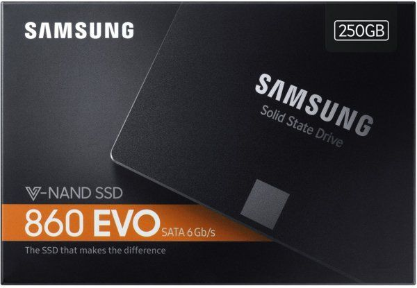 Samsung 860 Evo-Series 250GB 2.5