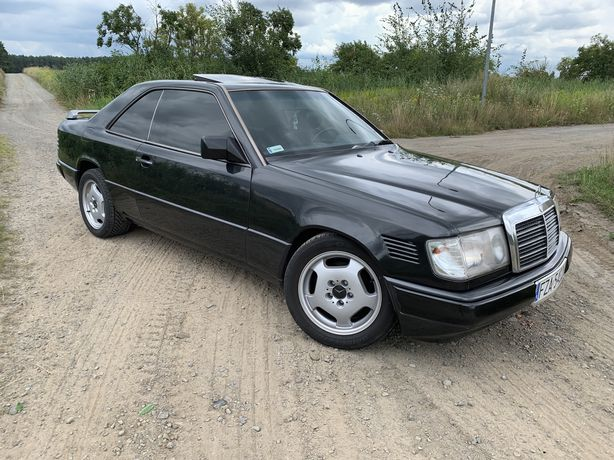 Mercedes-Benz W124coupe, 93r 2,2 benzyna, automat