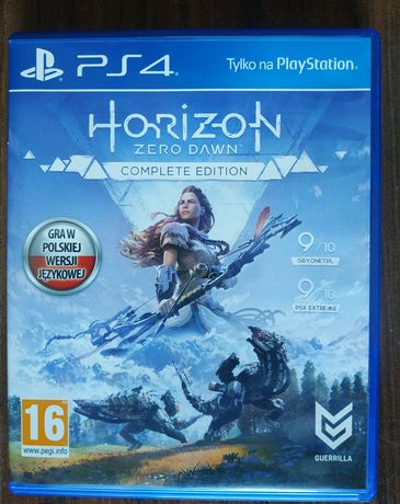 Horizon Zero Dawn PS4 PL Dubbing Complete Edition