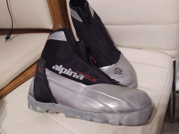 Alpine NNN r 38 buty na narty biegowe biegówki