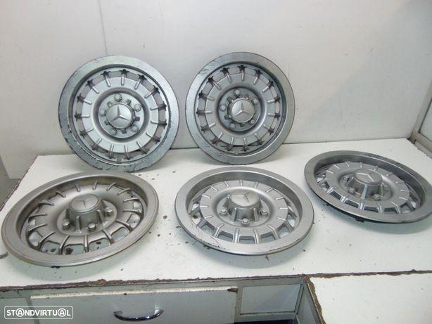 Mercedes w114/115/123 tampões de jante