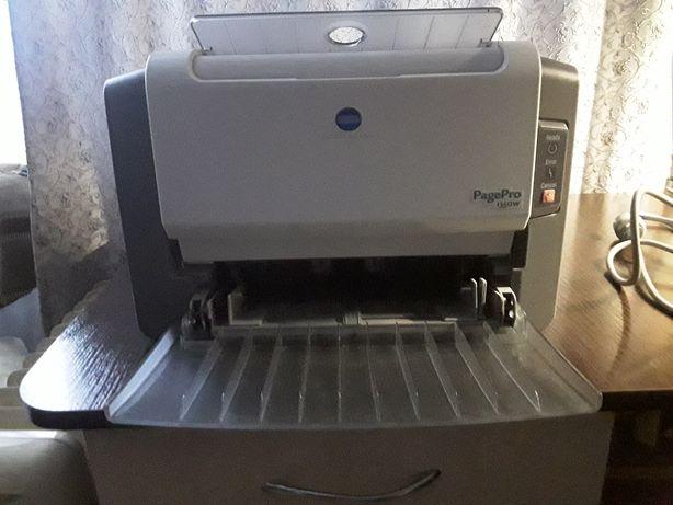 Лазерный принтер Konika Minolta PagePro 1350W