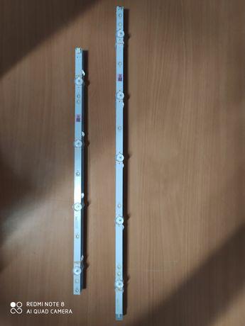 Kit 10 barras LED's p/ TV Led Philips 50PUS6162/12