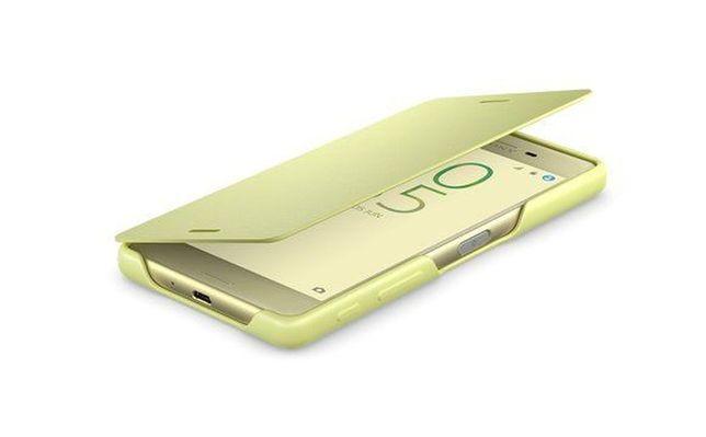 SCR52 Sony Xperia X etui NOWE pokrowiec osłona limonka Style Cover