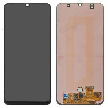 Модуль для Samsung Galaxy A50, Samsung A505 черный, дисплей + сенсор