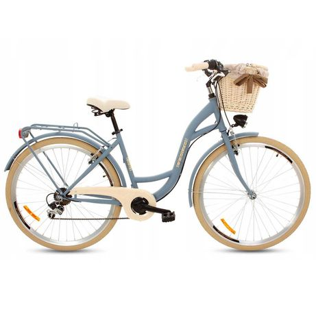 "Rower Miejski Goetze Mood 7b 28"" Denim Blue"