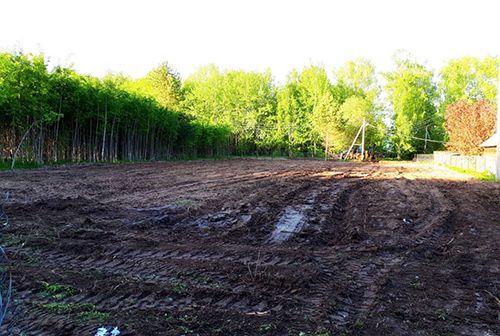 Выравнивание планировка Уборка участка територии,спил деревьев,демонта
