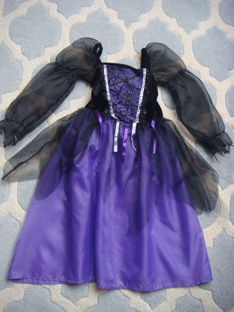 przebranie wróżka / strój karnawałowy /sukienka czarodziejka