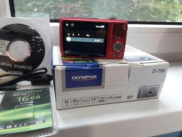 Цифровий фотоапарат Olympus D- 750