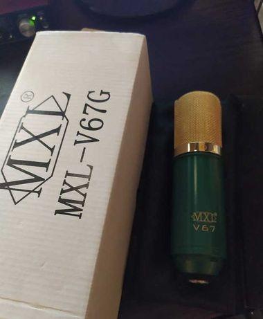Конденсаторный микрофон MXL V67G
