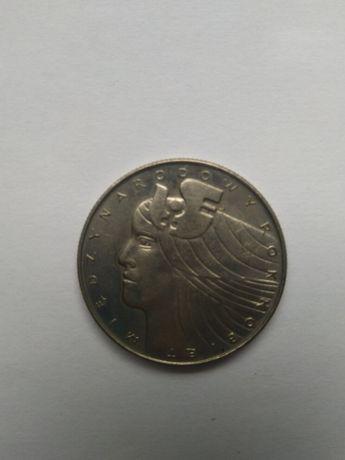 moneta z okazji Międzynarodowego Roku Kobiet