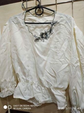 Женская шёлковая блузка