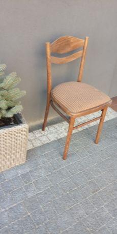 2 Stare krzesła PRL vintage do renowacji tanio!