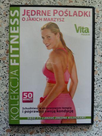 nowa DVD - Jędrne posladki o jakich marzysz, 50 min, trening w domu