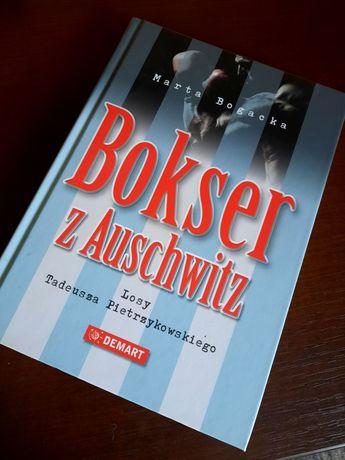 """Książka """"Bokser z Auschwitz"""""""