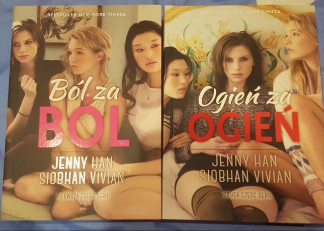 """Ból za bół"" i ""Ofień za ofień"" Jenny Han, Siobhan Vivian"