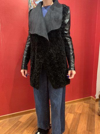 Куртка деми искуственный мех