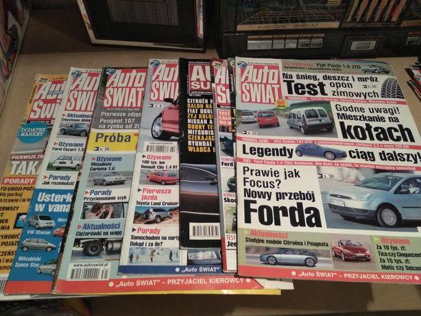 Motor . autoświat czasopisma 30sztuk