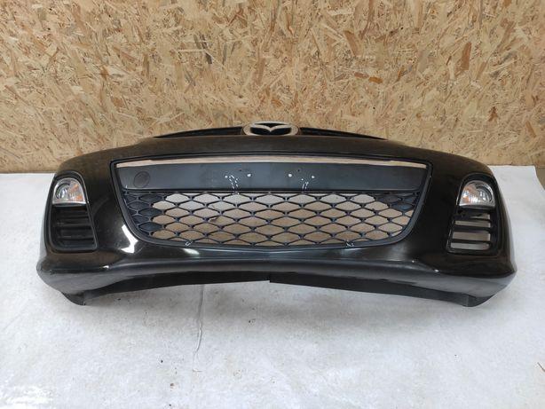 Mazda CX7 CX-7 2009-2012 бампер передний комплектный рестайлинг